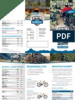 Biclycle Hire options Thruingia