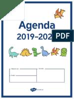Agenda Dinosaurios