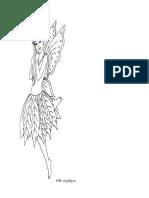 Fairy With Leaf Dress Kawaii 01
