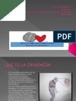 Presentacion Demencia Jessica Rojas