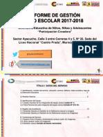 Informe Final de Gestión Año Escolar 17-18_MICHELENA.pptx