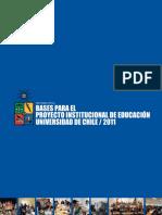 Informe Final Bases Para El Proyecto Institucional de Educacion PDF