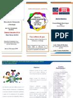 Brochure Foro