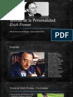 Teorías de la Personalidad - Erich Fromm