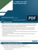 JP Morgan Presentation Historic Pilot Pay Analysis