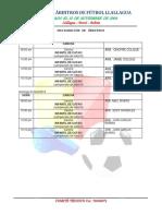Designacion de Arbitros 2019