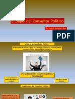El Papel Del Consultor Político