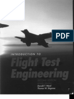 Flight Test Engineering