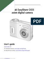 Manual Kodak Easyshare c433