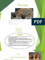 The Lion Aaron Lobos Sanchez