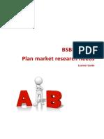 BSBMKG506 Learner Guide V1.1