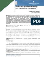 Tcc - Estabilização Da Tutela Antecipada Em Caráter Antecedente e a Formação de Coisa Julgada
