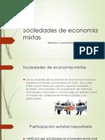 Sociedades de Economía Mixtas