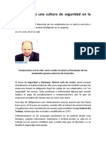 8 Pasos Para Una Cultura de Seguridad en La Empresa (BUENO)