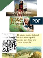 Moisés y Jose en hebreos