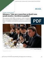 """Falar Que Se Passa Fome No Brasil é Uma Grande Mentira, é Um Discurso Populista"""" _ Brasil _ EL PAÍS Brasil"""