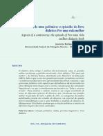 Artigo polêmica e livro didático