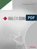 HALion Sonic SE 3 Operation Manual En