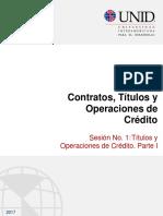 Contratos Títulos y Operaciones de Crédito.