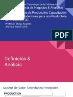 Plan de Mejoras de Producción, Capacitación Anual y de Instalaciones para una Productora de Animación 3D.pdf