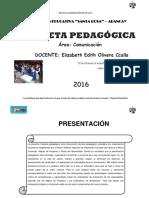 CARPETA COMUNICACION 2016