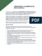 Conceptos , Importacia y Elementos de La Bioseguridad Act 2