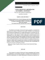 Nuevo Orden Espacial de La Globalización