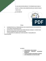 RELACIÓN ENTRE MÚSICA DANZA Y LITERATURA