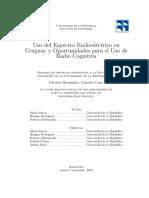 Uso Espectro Radioeléctrico en Uruguay
