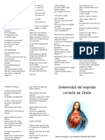 cancion al sagrado corazon de jesus