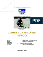 Proyecto Cohete Agua Trillenium
