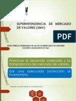 Superintendencia de Mercado de Valores (Smv) 5