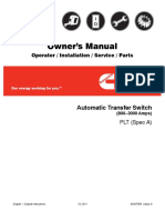 Automatic Transfer Switch PLT