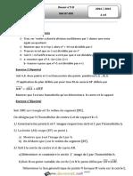 Devoir de Contrôle N°3 Lycée pilote - Math - 2ème Informatique (2014-2015) Mr chaabane mounir.pdf