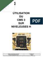 562 S - Utilisation Du CMS3 Sur Niveleuses H