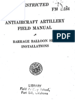 Barrage Balloons Manual (1943)