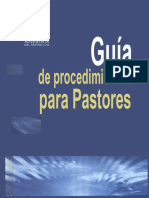 Guia de Procedimiento Para Pastores