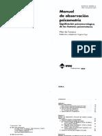 Manual de Observación Psicomotriz. Significación Psiconeurológica de Los Factores Psicomotores. Barcelona INDE, 1998.
