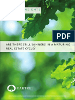 Are There Still Winners in a Maturing Real Estate Cycle