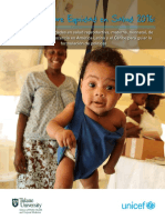 Informe sobre equidad en salud