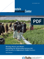 Winning Hearts and Minds in Afghanistan? Examining the Relationship between Aid and Security in Balkh Province