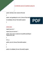 RmiPrograms