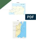 Mapas de Rios de Centro America