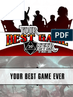 Your Best Game Ever