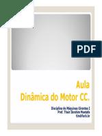 Aula_8_Dinâmica Do Motor CC