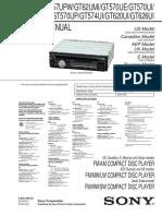 Sony Cdx-gt57upw Cdx-gt62umi Cdx-gt570ue Uv Up Cdx-gt574ui Cdx-620ui Cdx-gt626ui Ver1.1