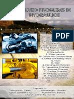 Hydraulics problems