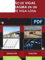 Diseño de Vigas Diafragma en Un Puente Viga-losa