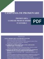 CAMPANIA DE PROMOVARE