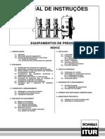 instruções de vasos de pressão